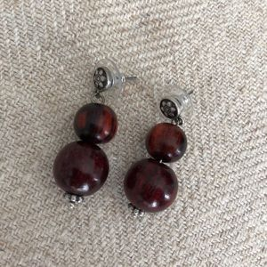 Jewelry - FREE WITH PURCHASE Wood Earrings